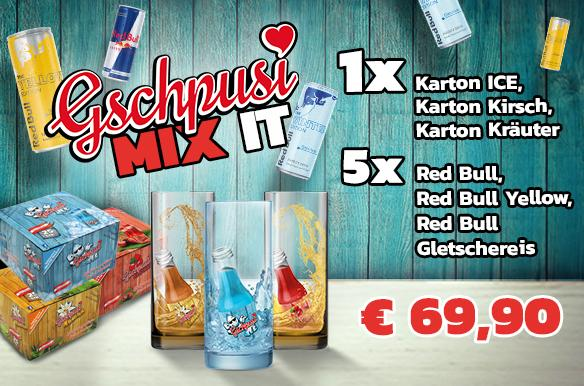Gschpusi MIX IT - Paket